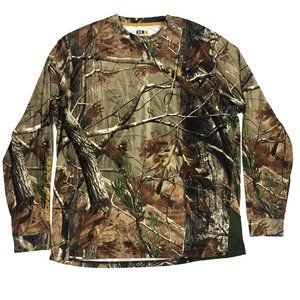 Under Armour Realtree Camo Dryfit Longsleeve Large
